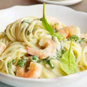 West Indies Seafood Linguine